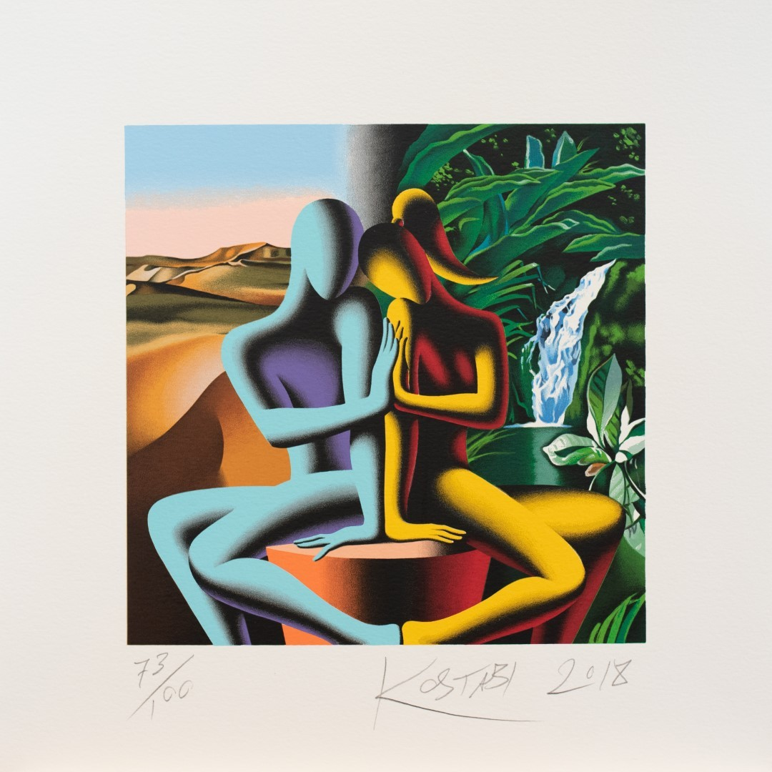 Mark-Kostabi-Touching-Dreams-cm-45x45