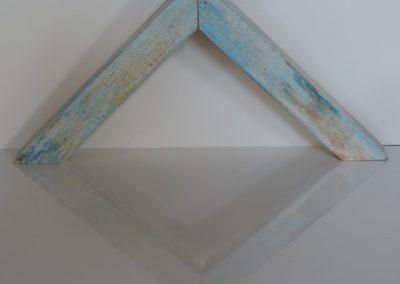 CORNICE CASSETTA GRANDE GRAFFIATA CELESTE (Custom)