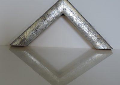Cornice Sole Cassetta blu fondo argento