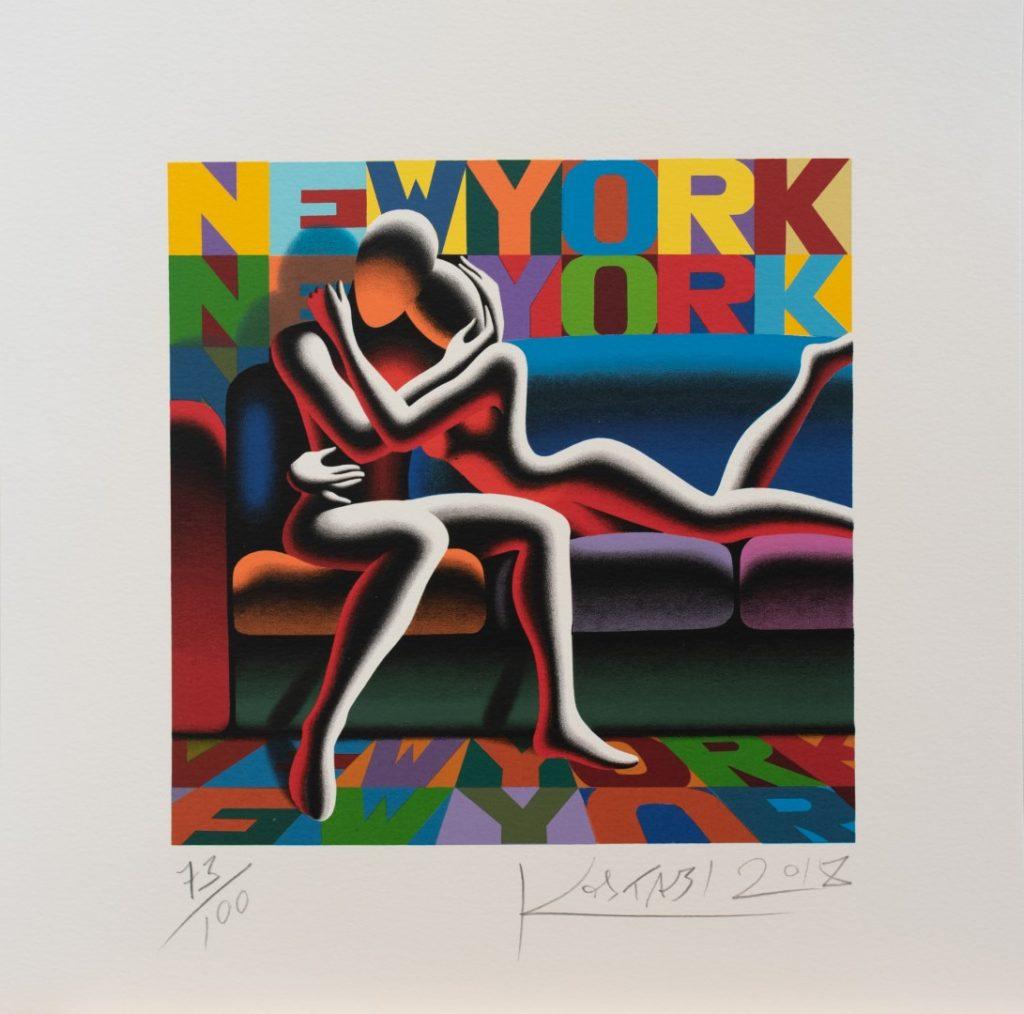 Mark Kostabi - The Way We Are - cm 45x45