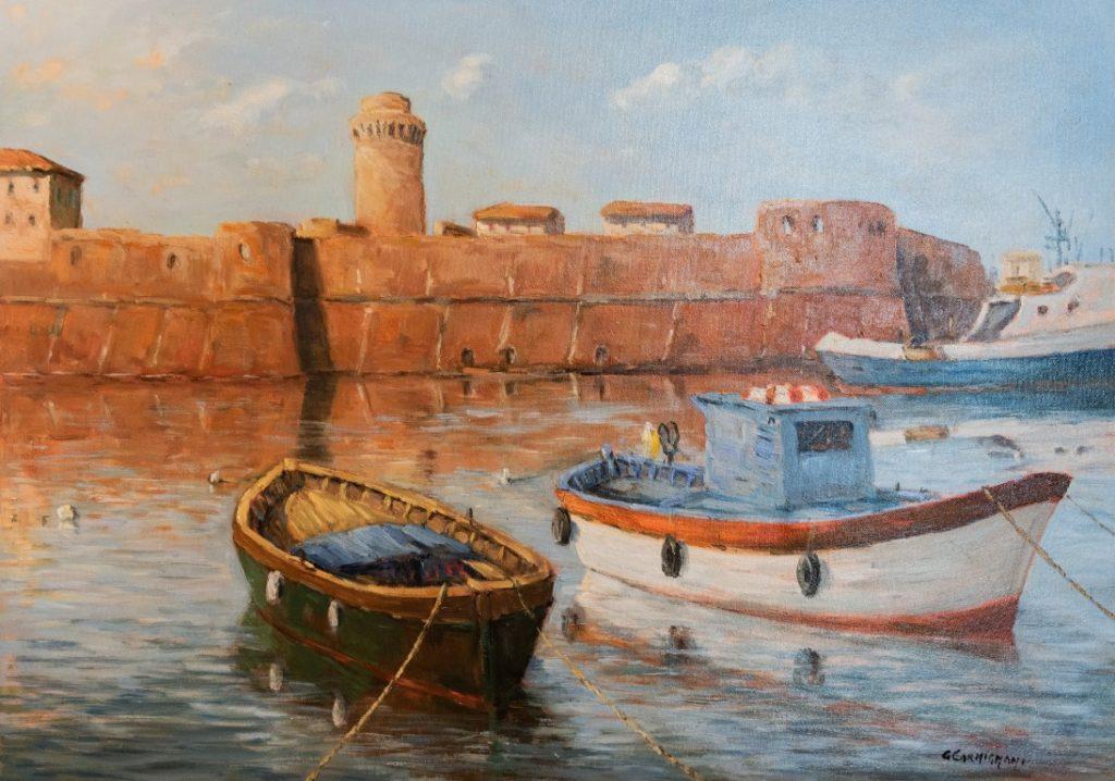 Carmignani pittore Livornese pittura toscana (5)
