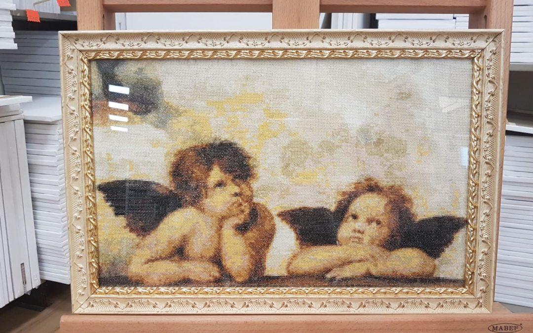 Cornice grafica lavorata veneziana