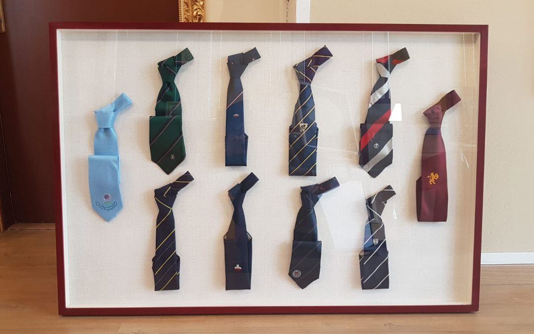 Cravatte in cornice!