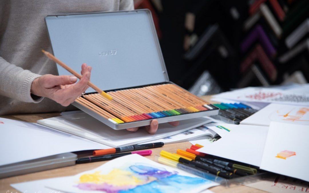Lettering l'Arte della scrittura e dell'acquerello