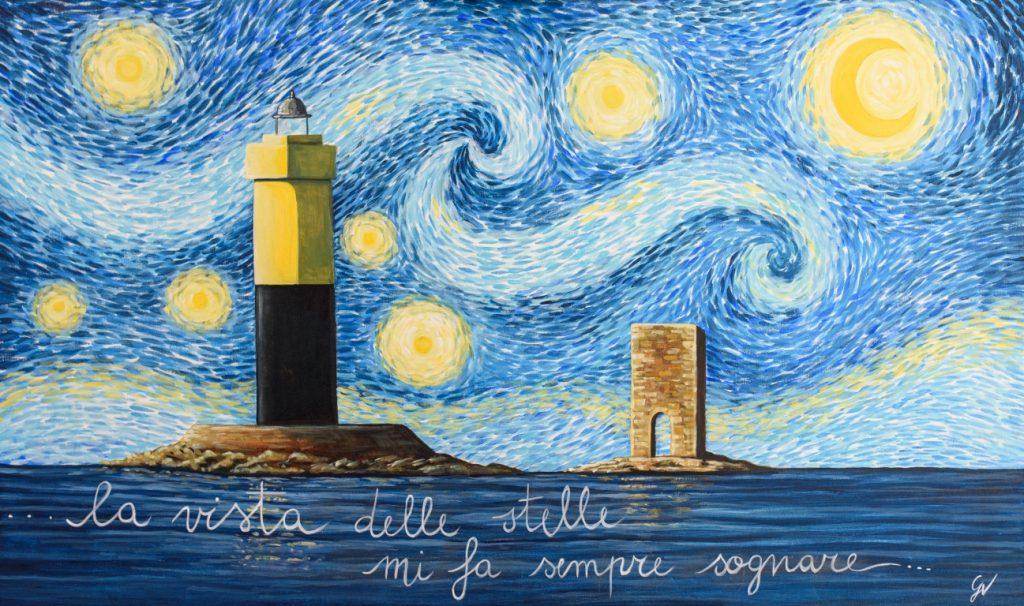 ...una notte stellata a Livorno...